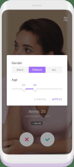 Filter with text random chat gender Shagle Random